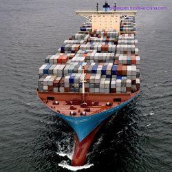 A competitividade do transporte marítimo de carga China20 pés para Manzanillo México América do Norte