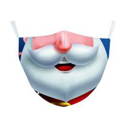 SaleのためのLuxury再使用可能なAnti Dust Elastic Strap Children Custom Sublimation Printing Silk Cotton OEM Printed Christmas Party Face Mask Kids Halloween Face Mask