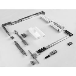 Alliage d'aluminium porte et fenêtre Matériel Tilt-Turn système matériel de la fenêtre