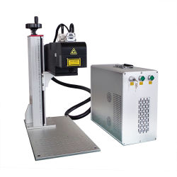 طابعة ليزر محمولة صغيرة الحجم لتمييز الماكينة السعر