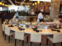 طاولة مائدة ساخنة قابلة للتخصيص لتناول الطعام في المطعم