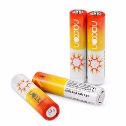 2021 Precio de fábrica LR6 AM3 Chaqueta de aluminio de tamaño AA alcalina batería Batería AA con certificados de Kc RoHS