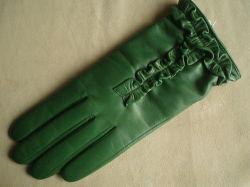 Fashional女性皮手袋(JYG-27106)