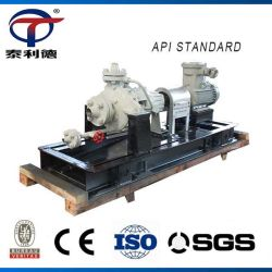 API brut chaud pétrochimique centrifuge horizontale les pompes à carburant Diesel d'huile de gaz acide de transfert des processus chimiques fabricant de la pompe à eau