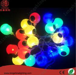 LED impermeável de grandes cadeias leves de esfera para decoração