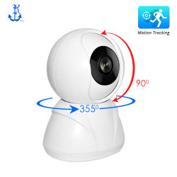 720p / 1080P 2MP WiFi Home Security Network Monitor do bebé P2P Smart Motion Tracking IP Dome câmara CCTV