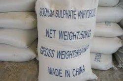 99%Na2SO4 Sulfate de sodium anhydre/sel de Glauber