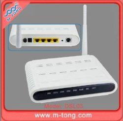 Модем ADSL2+ с 4 портом маршрутизатора и 54m Wireless