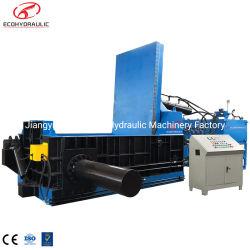 China-Qualitäts-Aluminiumballenpresse für das Altmetall, das Yards aufbereitet