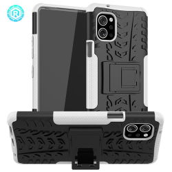 Mobile téléphone mobile de cas de couverture pour LG Q92 5g