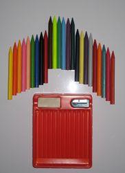 24 ЦВЕТОВ Trigonal стираемое карандашей (7002)