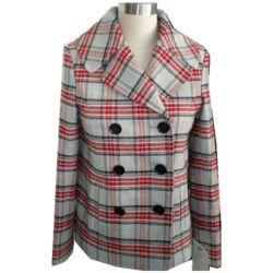 Shearling cubra as mulheres, casaco de inverno, Peacoat