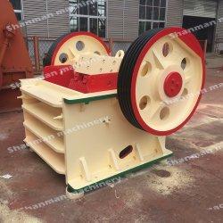 Sudán la piedra de la maquinaria de la mandíbula trituradora de piedra utilizados para la construcción