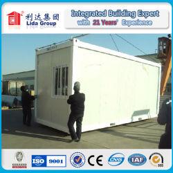 Сегменте панельного домостроения в транспортировочный контейнер дома