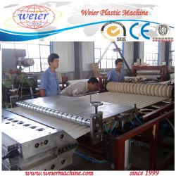 O PVC transparente do painel de chapa de tejadilho da onda da linha de produção