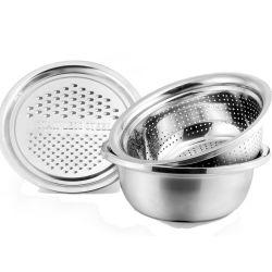أدوات المطبخ من الفولاذ المقاوم للصدأ الفرانر الفاكهة الخضار الكولاندر عش سلة