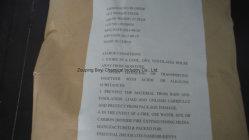 Оштрафованы зажигания марки хлорида аммония Kraft бумажных мешков для пыли