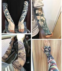 손 소매 고품질 반대로 UV 승화 인쇄 팔 소매