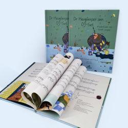 Het harde Boek van de Kleur van de Kinderen van de Dekking met Goede Kwaliteit het Document van de Kunst