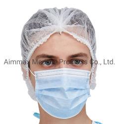 Chirurgisch/Medisch/Tand/Verzorgend/schrob/Ruimte/Menigte/Zwabber/het Werk/Snood/SMS Niet-geweven Beschikbare pp GLB voor Arts/Chirurg/Verpleegster/Arbeider (Bouffant/Ronde/Geplooid/Strook/Klem)