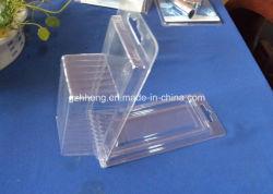 Verpakking van de Blaar van pvc Clamshell van de douane de Plastic (blaardoos)