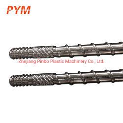 أسطوانة برغي أنبوب برغي غطاء الأسطوانة اللولبي المزدوج 65/132 لـ PVC أنبوب PVC