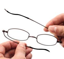2020 Venta caliente Alemania los mercados sin nariz pequeña almohadilla de metal de aleación de gafas de lectura