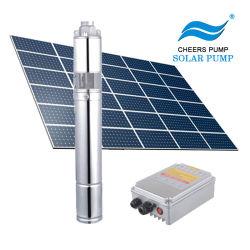 Puits de pompage solaire solaire submersible Pompe à eau de surface