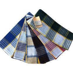 100%Fios de algodão tingidos Stripe Toalha