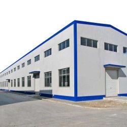 La luz de la construcción inmobiliaria Construcción Taller de estructura de acero