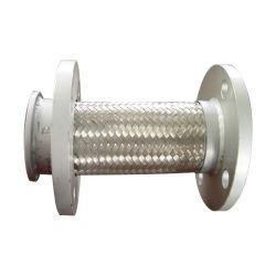 Manguera de metal flexible de acero inoxidable corrugado con refuerzo de acero trenzado