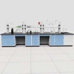 El Hospital Laboratorio de flujo laminar horizontal acero banco LIMPIO, Bio muebles mesa de laboratorio de acero/.