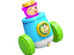 배터리 작동식 장난감 카툰 원숭이, 플래시 조명과 음악 아이들을 위한