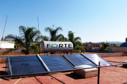 1000L солнечной энергии для нагрева воды, проект