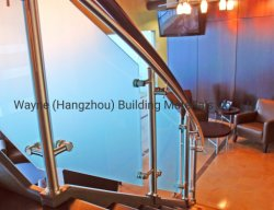5mm-25mm vidro temperado de privacidade fosca / Vidro Sandblasted/ cido vidro gravado para a Guarda de vidro e escada de vidro com EN12150 Qualidade padrão