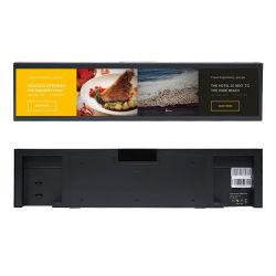 Kundenspezifischer Stab-Typ ultra breiter Digital-Signage ausgedehnter Stab LCD-Schauplakat-Spieler