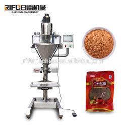 유장 또는 우유 또는 간장 콩 또는 소금 또는 단백질 또는 생강 분말 충전물 기계장치