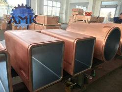 El tubo del molde de cobre para la planta de acero