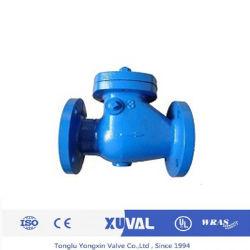 DIN BS JIS ANSI de giro de hierro fundido de válvula de retención (CKV-016-C).