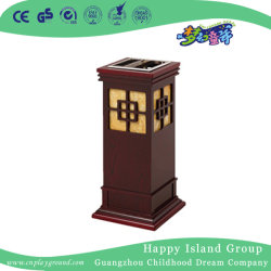 ホテルの屋内環境の木製のごみ箱(HHK-15209)
