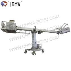Chinesisches Hersteller-Fenster-Reinigungs-teleskopisches Mast-Gebäude-Pflege-Gerät (BMU)