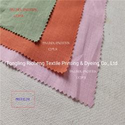 Hoge kwaliteit 100% Pure linnen effen jurk