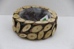 100 % Handmade Pots de fleurs en vrac Les fournisseurs chinois de l'artisanat du bois