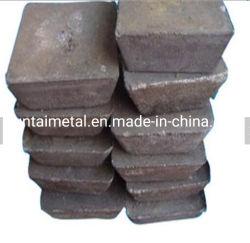 Lingotti 99.65%/99.9% dello Sb dell'antimonio di prezzi competitivi del rifornimento della fabbrica