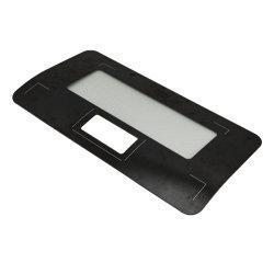 Cuisine 3,2 mm Appareil électrique Four micro-ondes accessoire enduits de miroir de la soie de verre flotté trempé d'impression du panneau de verre de feuille