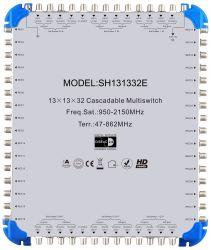 MultipSwitch 32 تتالي معدات القمر الصناعي LNB القمر الصناعي العالمي