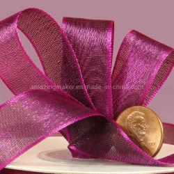 Джулия Iridescent Semi-Sheer атласной лентой для подарочной упаковки (AM-SR049)