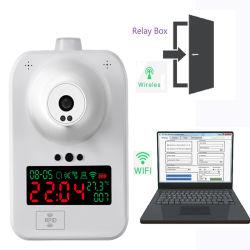 Drahtlose Zugriffssteuerung RoHS LCD Digital Temperatur-medizinischer Stirn-Infrarot-Thermometer