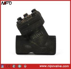 Tipo Y da Válvula de Retenção do Pistão em aço forjado