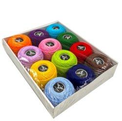 綿 100% 混紡メリ化綿糸刺繍糸